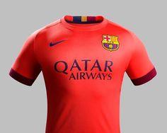 Jersey Barcelona Away Kit 2014/2015