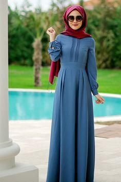 Dress Muslim Modern, Muslim Dress, Islamic Fashion, Muslim Fashion, Hijab Style, Hijab Chic, Dress Outfits, Fashion Outfits, Girl Fashion