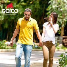 Usa #Polos y #Jeans #GoCo para que tu look transmita tu personalidad. Hoy casual y relajado #BeGoCo. Visita nuestras tiendas o si lo prefieres compra online en www.gococlothing.com #LaMarcaDelGorila