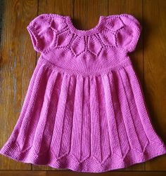Ravelry: Project Gallery for Elsie's Petal Dress pattern by Kate Gondwana