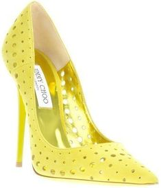 Jimmy Choo Perforated Pumps - Lyst #stilettoheelsjimmychoo