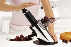 This cherry pitter: | 23 Gadgets All Lazy People Need In Their Kitchen