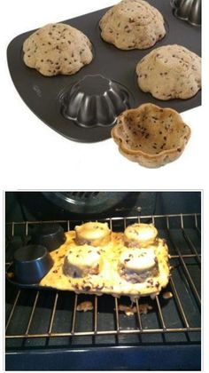 Make cookie bowls for ice cream. Nailed it! Now where's the freakin' Easy-Off?!
