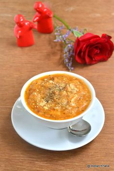 healthy tomato bread soup recipe by Priti_S, via Flickr
