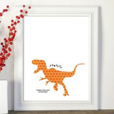 Did you know? Rawrrr Means I Love You in Dinosaur! - Always loved this saying. I'd put it in Cadence's bedroom.