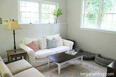 Neutral Gray Paint, Grey Paint, Sofa, Couch, Slate, Furniture, Home Decor, Gray Paint, Chalk Board