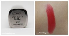 Find my first impression and L'oreal Color Riche Moist Matte swatches here! Check out what I think about Rose bud and Lincoln Rose