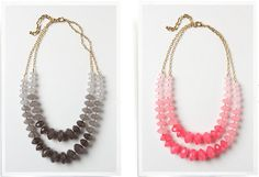 Anthropologie Inspired Necklaces DIY
