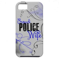 Proud Police Wife - iPhone 5 Cases