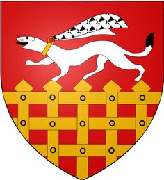 Blason de la ville de Saint Malo dans le département de l'Ille et Vilaine  en Bretagne