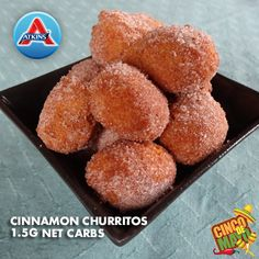Treat yourself to these delicious Cinnamon Churritos this Cinco De Mayo! (All Phases)