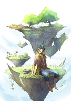 Flying Islands by Namonn