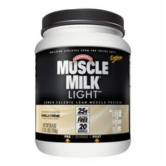 CytoSport Muscle Milk Light Vanilla Creme 1.65 Lbs. CYTO520110 Vanilla Creme - A Lower Calorie Lean Muscle Formula With 25 Grams Of Protein!