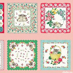 These would be the CUTEST handkerchiefs!