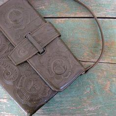 Tooled Leather Purse