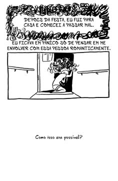 Arromantico Assexual descobrimento p.15 Ilustrações de Kotaline Jones