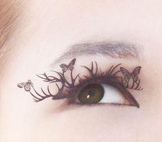 Pretty Paper Eyelash Extensions