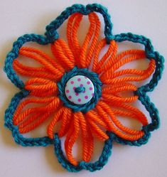 Flower Looms: Making Stars on Any Round Loom
