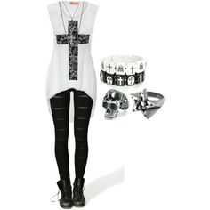 """""""Untitled #605"""" by bvb3666 on Polyvore lol like this one better"""