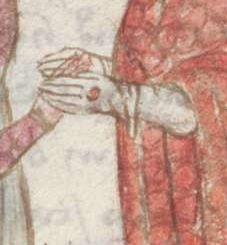 Legenden der Augsburger Heiligen Ulrich, Sintpert, Afra, Eustachius. Johannes von Indersdorf Augsburg, 1454 Cgm 751  Folio 14