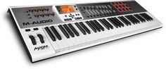 Gearjunkies.com: M-audio announces Axiom AIR 61, 49, and 25 MIDI keyboards