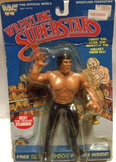 WWF Wrestling Superstars Rick Steamboat Action Figure