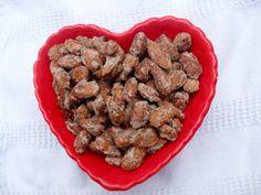 Cinnamon Sugar Almonds.