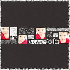 Addicted to Paper - Black and White, Dunia Designs