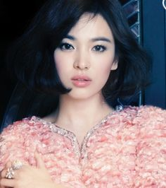 23 ideas for wedding makeup asian natural song hye kyo – - Wedding Makeup Celebrity Asian Makeup, Korean Makeup, Korean Beauty, Asian Beauty, Song Hye Kyo, Short Hairstyles For Women, Bob Hairstyles, Asian Hairstyles, Trendy Haircuts