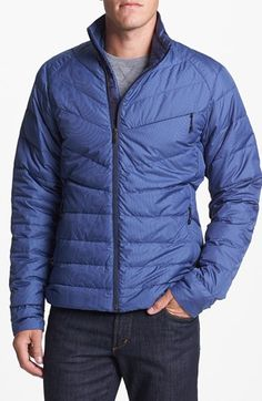 Nau Check Down Jacket | Nordstrom