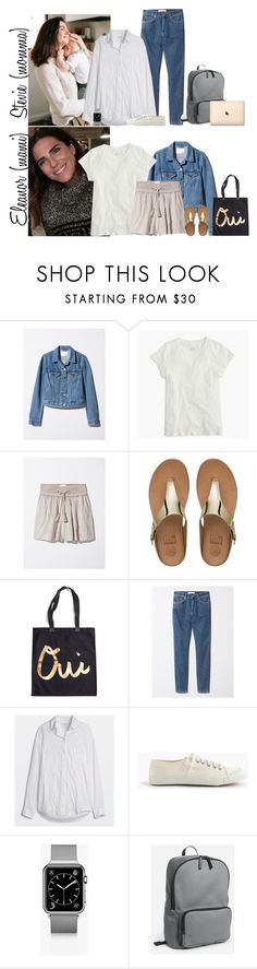 """""""Wednesday // School, Little Ones Play Date & Activities Privates // 6.7.17"""" by graywolf145 ❤ liked on Polyvore featuring J.Crew, FitFlop, Rosanna, Casetify and StevieandEleanor"""