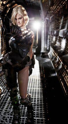 Michele Boyd: Mourningstar cosplay