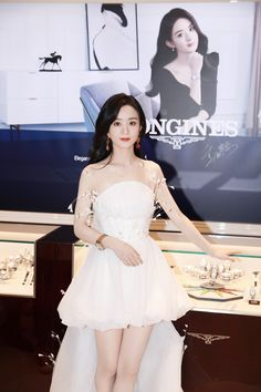 Party Wear, Party Dress, Princess Agents, Zhao Li Ying, Asian Kids, Curvy Girl Outfits, Rene Caovilla, Chinese Actress, Night Gown
