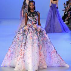 Показ: Elie Saab couture S2014