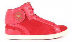 Barons Papillom - Cuir suede rouge