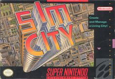 Sim City on Super Nintendo (SNES) from 1991. So much time playing with it... so long time ago.