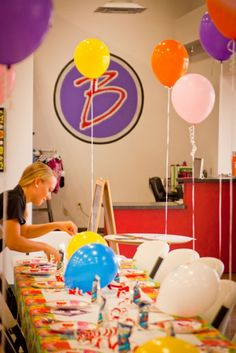The BEST Birthday Parties in Flower Mound, TX!  Kids have SO much fun while the parents relax and enjoy! www.bestgymnastics.net