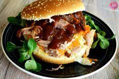 Pulled Pork BBQ Burger oder das geilste Essen ist der größte Trost bei schweren Verletzungen | SchokoladenFee