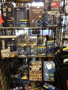 """""""For my birthday, my dad took me and my friends to a store dedicated to doctor who. this is only about 1/3 of the store. They had every single sonic screwdriver. They also had supernatural stuff and sherlock stuff. We spent an hour and a half there. It was awesome."""" // So I was thinking, this is great, but it's probably really far away. And then... Lombard, Illinois?!?! O_O That's only five hours away from my house!!"""