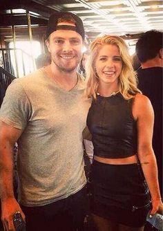 Stephen & Emily #Stemily #Olicity #Arrow #SDCC 2015 #CWSDCC