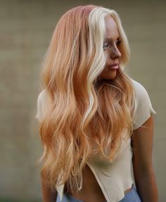 Red Hair Inspo, Ginger Hair Color, Ginger Hair Dyed, Cheveux Oranges, Hair Color Streaks, Peach Hair, Aesthetic Hair, Dye My Hair, Grunge Hair
