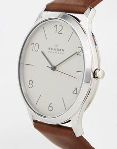 Skagen | Skagen Leather Strap Watch SKW6150