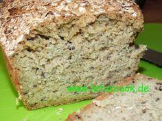 Glutenfreies Hafer-Sonnenblumenbrot  -  შვრიის და მზესუმზირის პური-let us cook