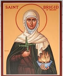 I would like a great lake of beer for the King of Kings. I would like to be watching Heaven's family drinking it through all eternity.  —St. Brigid of Ireland — Oh Brigid!..how Irish of you.