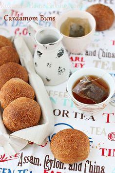 Cardamom buns by RoxanaGreenGirl | Roxana's Home Baking, via Flickr