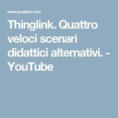 Thinglink. Quattro veloci scenari didattici alternativi. - YouTube