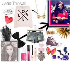 """""""Jade Thirlwall :D"""" by swaggycamel ❤ liked on Polyvore"""