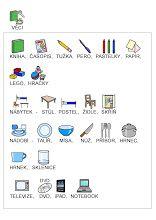 Fotka: Slovní zásoba - věci English Language, Teaching Kids, Study, Album, Education, Learning, School, Games, Sewing