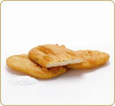 Aussie potato scallops...we always got excited when these were made
