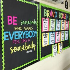 Love the quote! Maybe have a frame for each class or grade level to give a shout out for something awesome from the week?